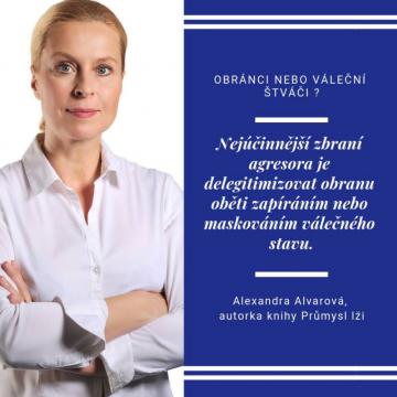 Alexandra Alvarová o politické propagandě